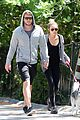 miley cyrus liam hemsworth walk floyd 02