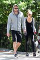 miley cyrus liam hemsworth walk floyd 04