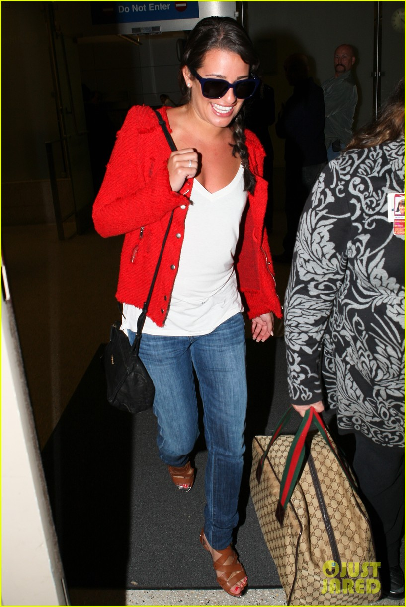 lea michele cory monteith lax 072646944