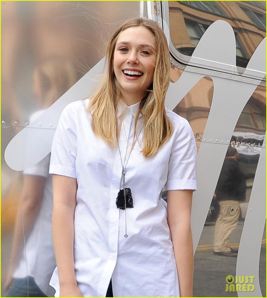 Elizabeth Olsen: Madewell Denim Road Trip!