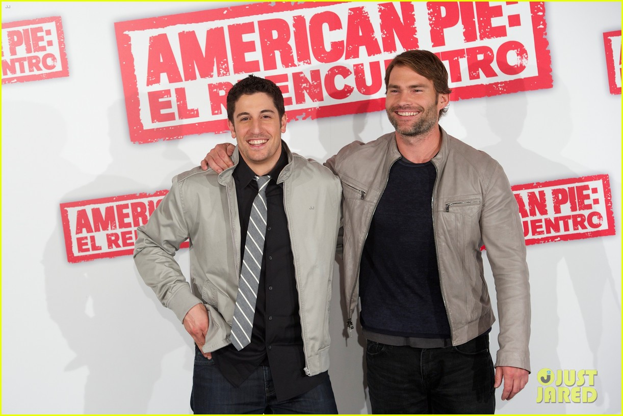 jason biggs seann william scott american reunion madrid 08