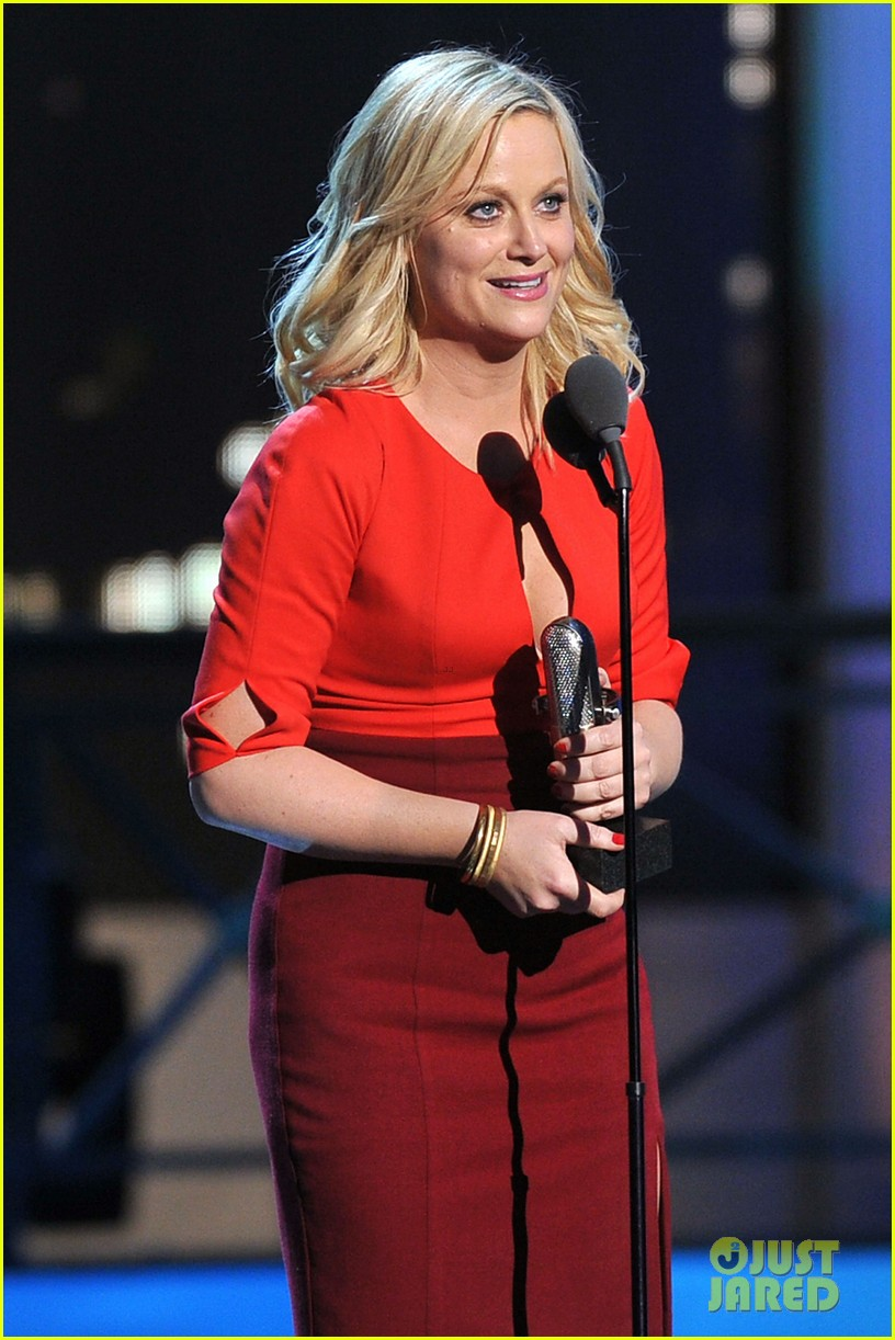 amy poehler best actress at comedy awards 2012 04