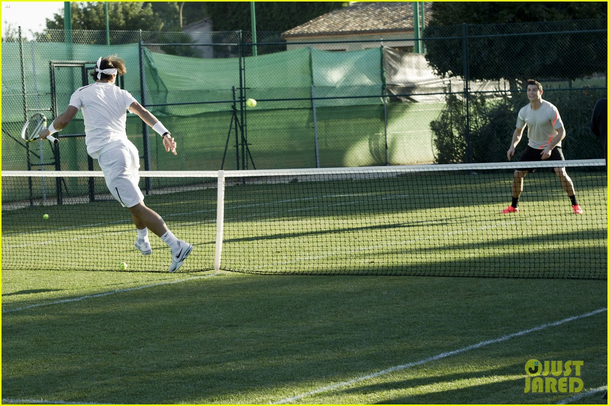 cristiano ronaldo rafael nadal battle it out for nike 07