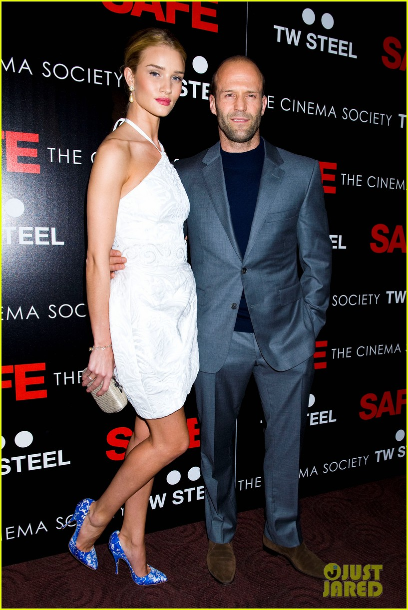 rosie huntington whiteley safe premiere jason statham 142649801