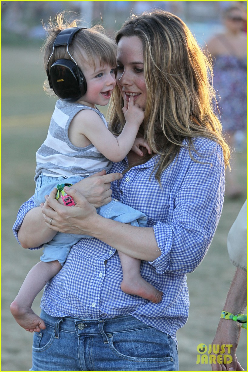 alicia silverstone brings baby bear to coachella 18