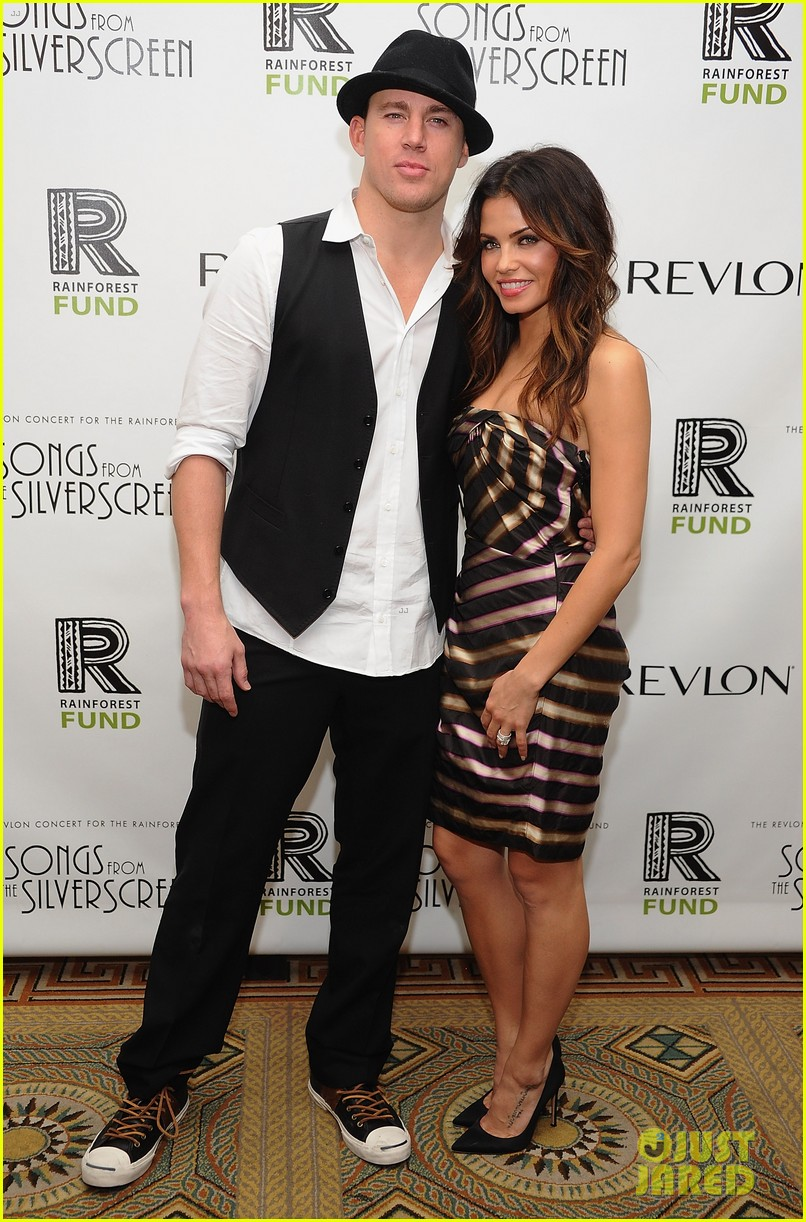 channing tatum jenna dewan 2012 rainforest fund concert 01