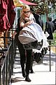 charlize theron out with baby jackson 01