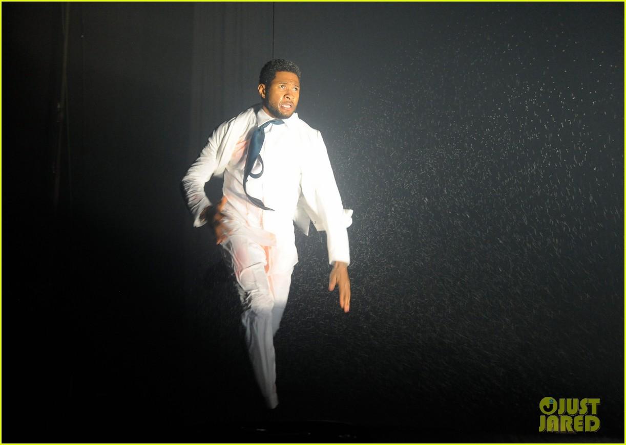 usher justin bieber fuerza bruta dance off 01