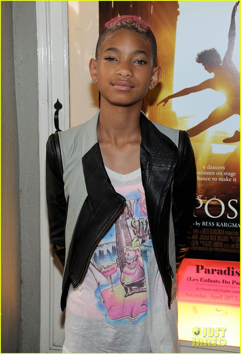 willow smith first position premiere 20