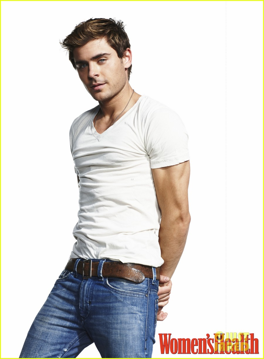 zac efron womens health 01Zac Efron Body 2012