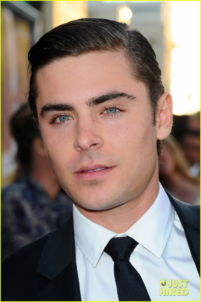 zac efron lucky one premiere 242650022