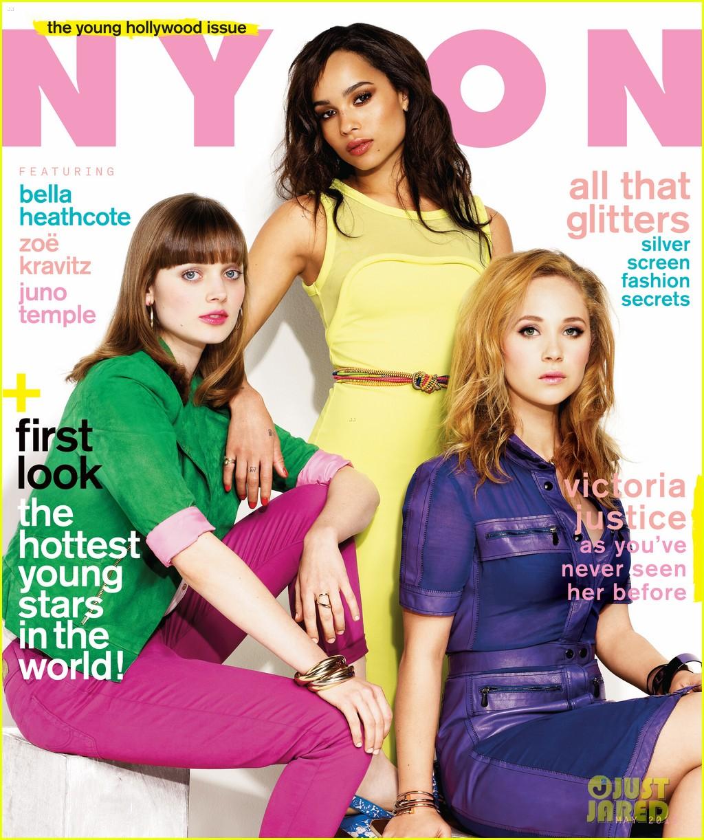 zoe kravitz juno temple nylon magazine cover 05