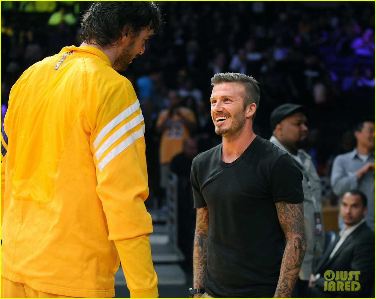david victoria beckham lakers lovers 10