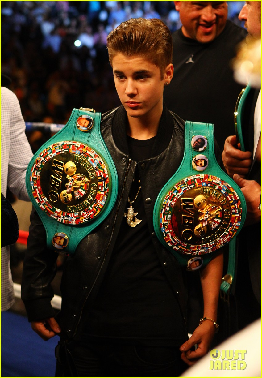 justin bieber floyd mayweather jr match 03
