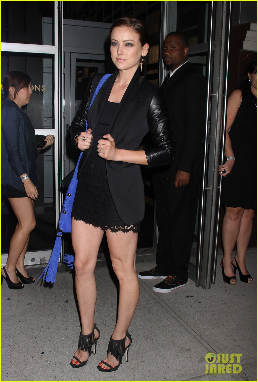 rachel bilson cw upfront after party 05