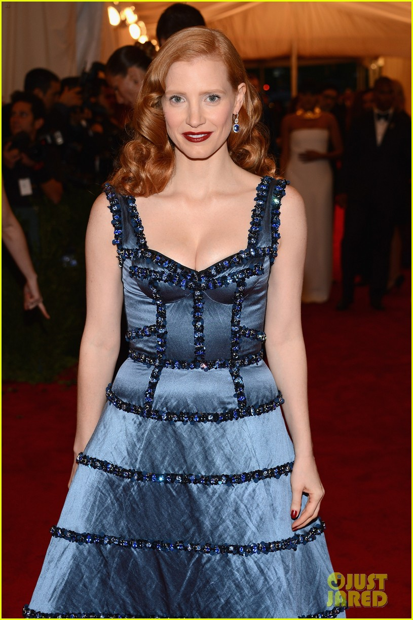 jessica chastain met ball 2012 04