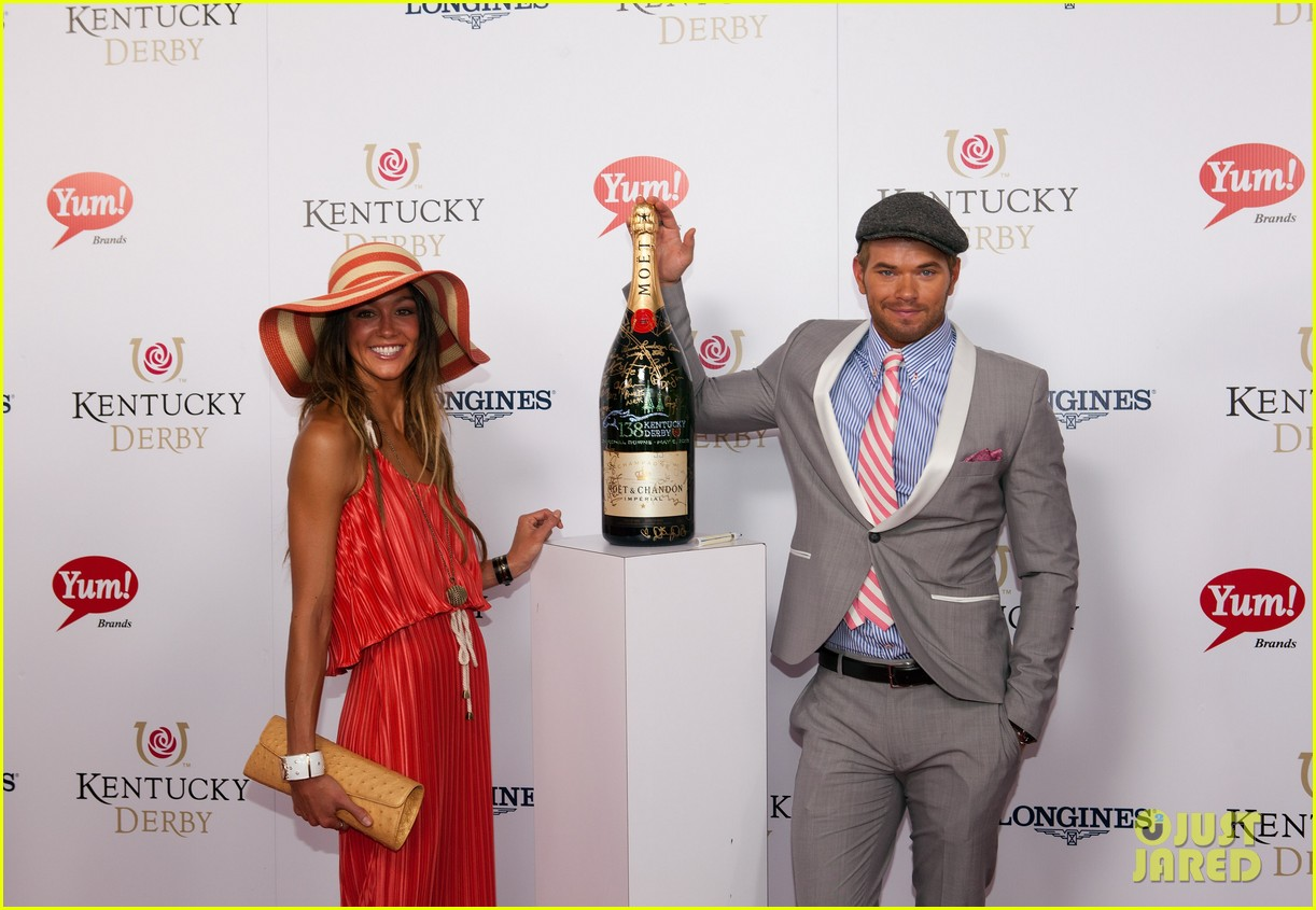 ginnifer goodwin kellan lutz kentucky derby 052657735