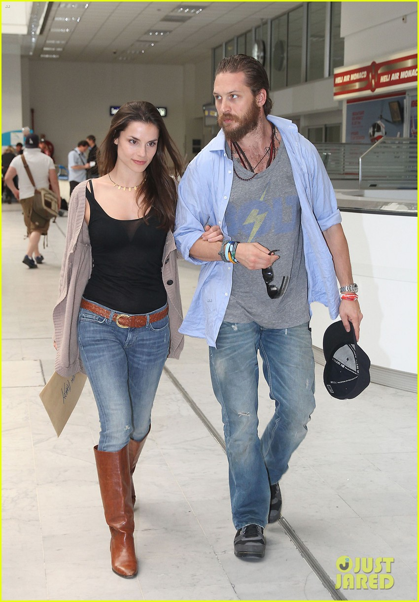 Tom Hardy couple