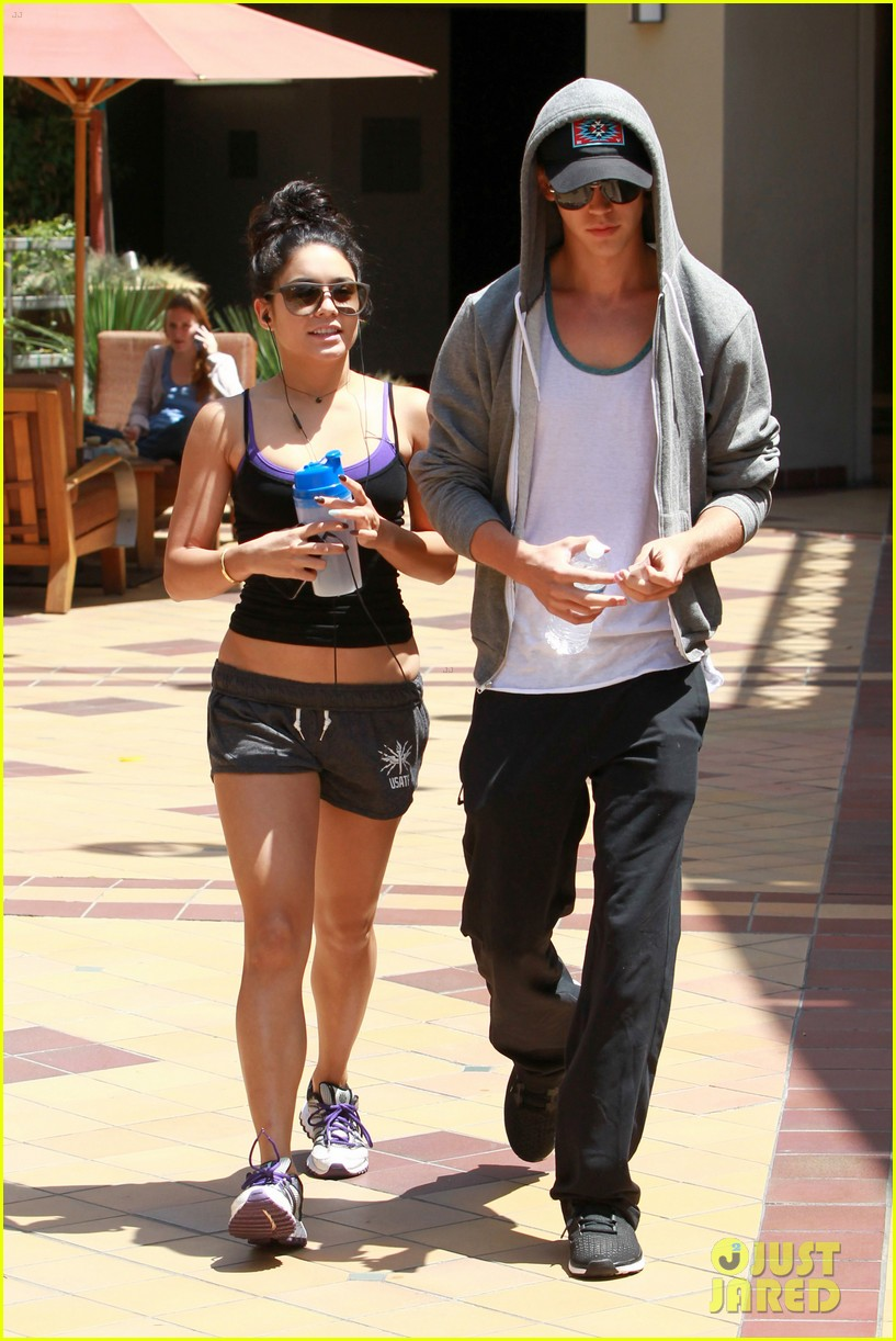 hudgens working out 09