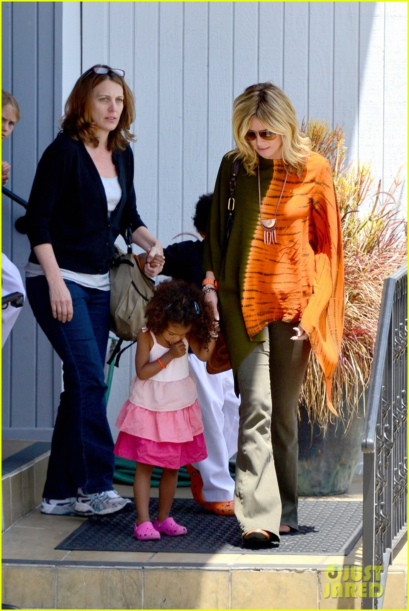heidi klum mommy duties 13