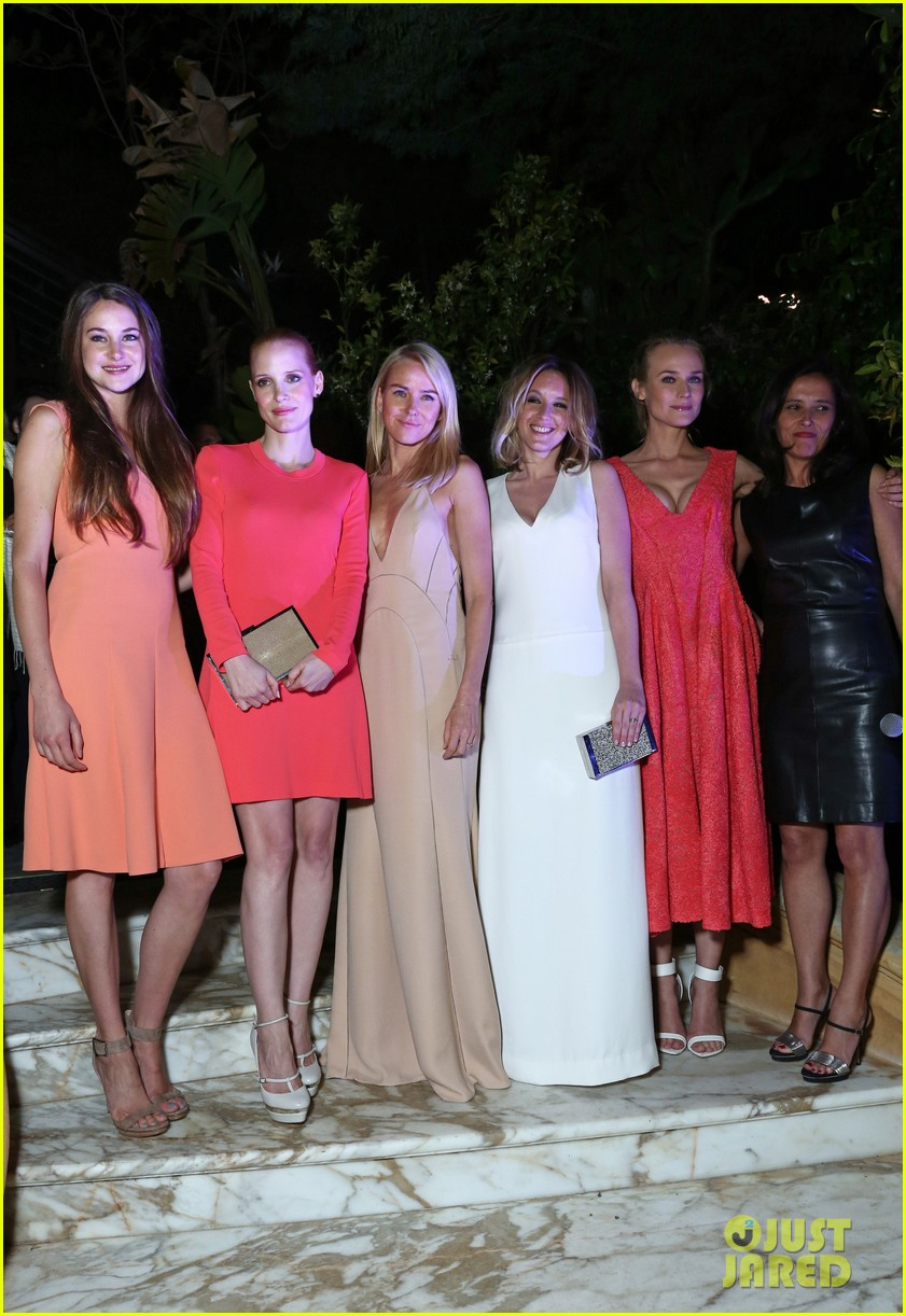 jessica chastain diane kruger women in film cannes party 05