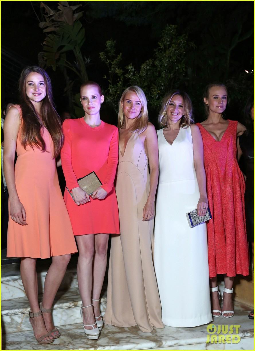 jessica chastain diane kruger women in film cannes party 06