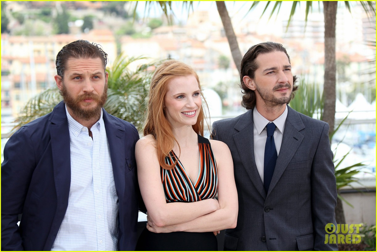 labeouf lawless photocall 11
