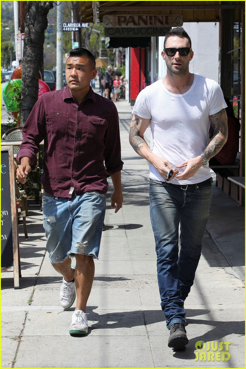 adam levine lunch 12