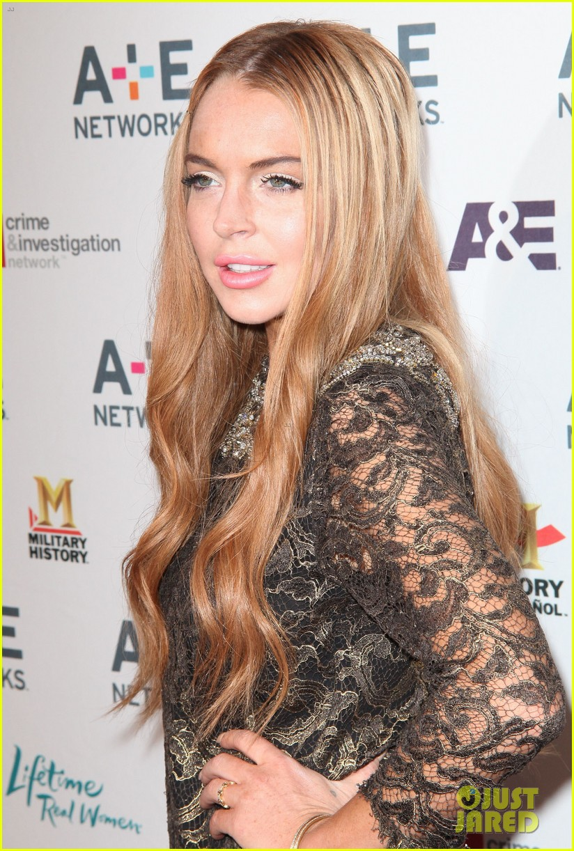 lohan a and e upfronts 09
