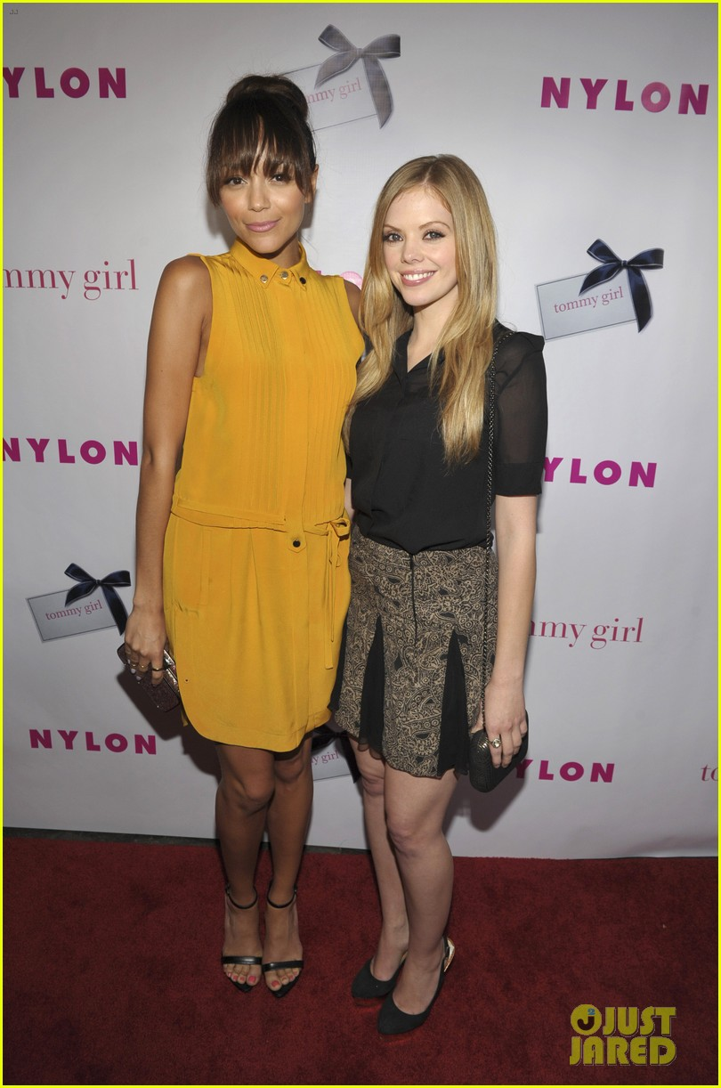 ashley madekwe christa b allen nylons young hollywood party 03