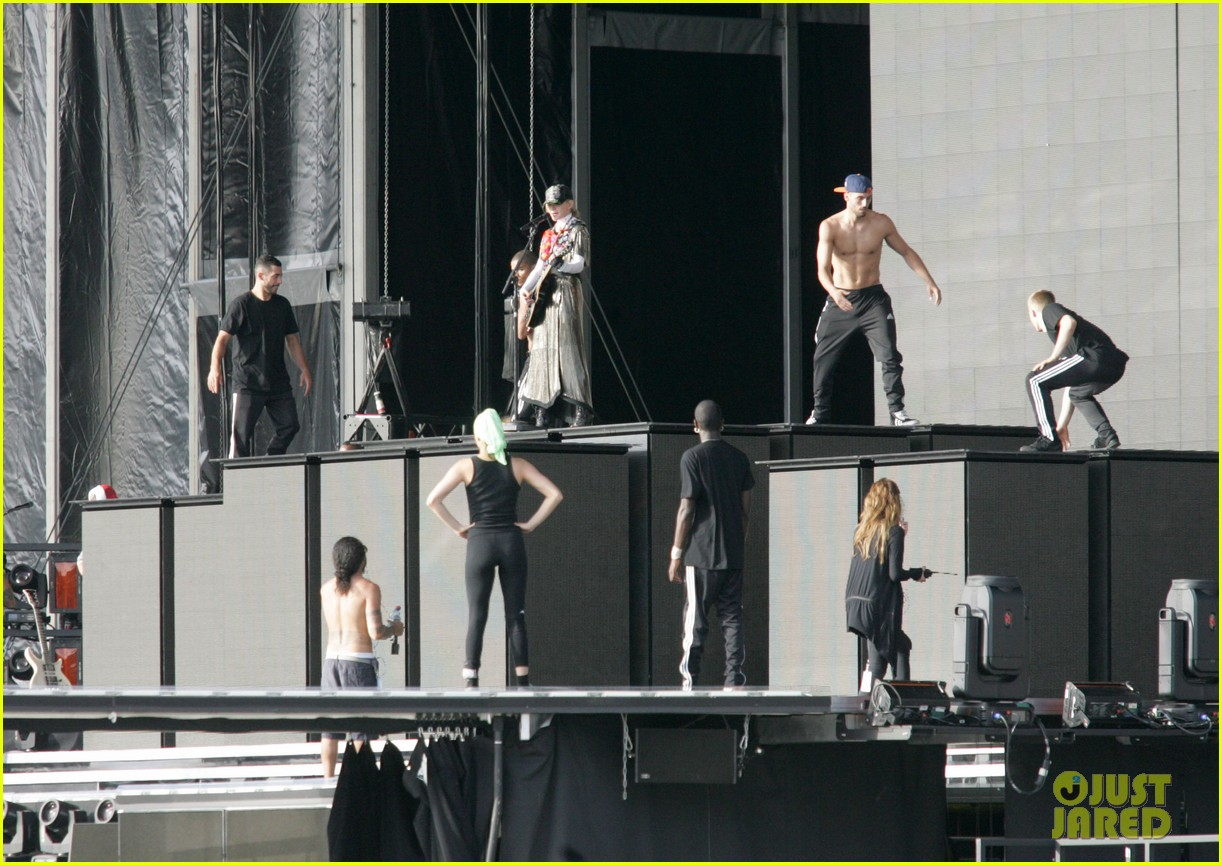 madonna rehearsal tel aviv 04
