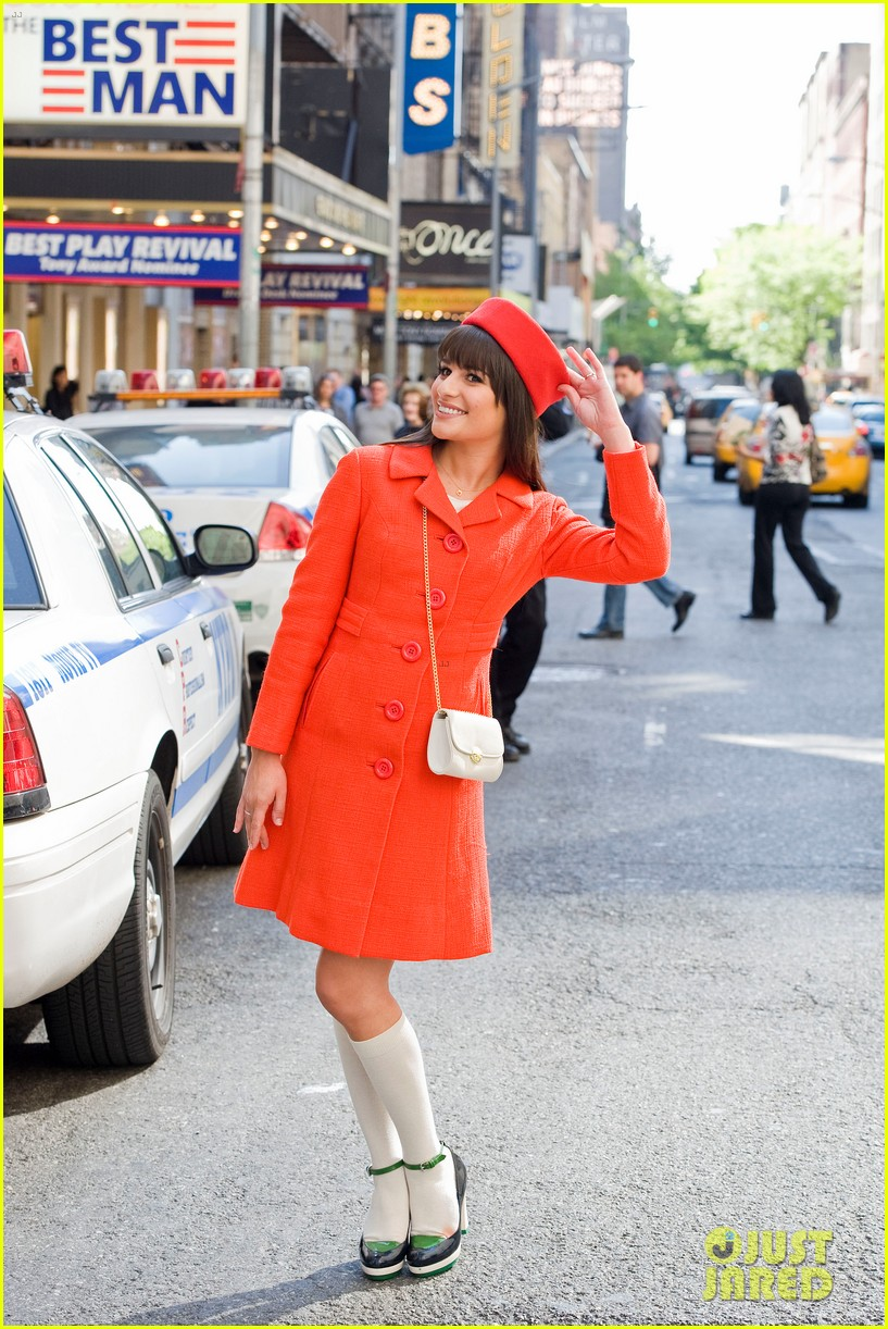 lea michele rachel berry broadway 01