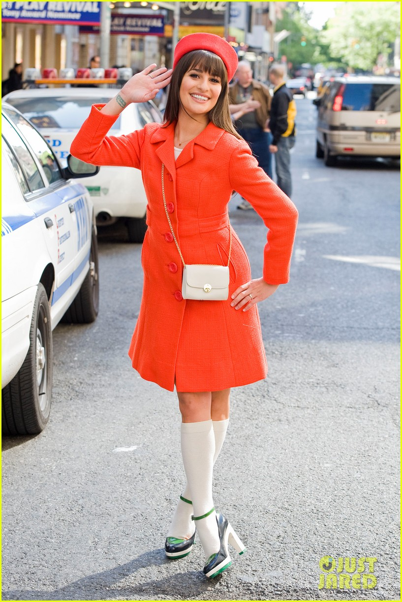 lea michele rachel berry broadway 06
