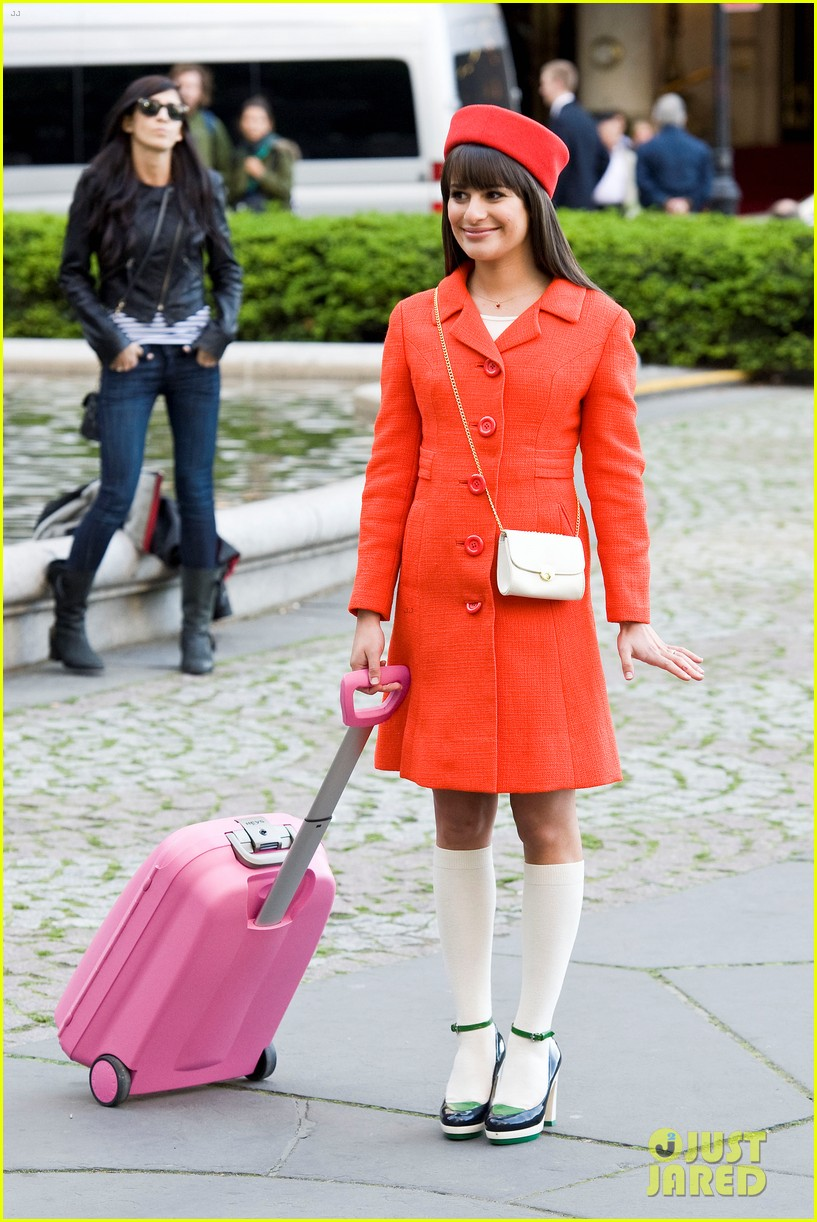 lea michele rachel berry broadway 122658138