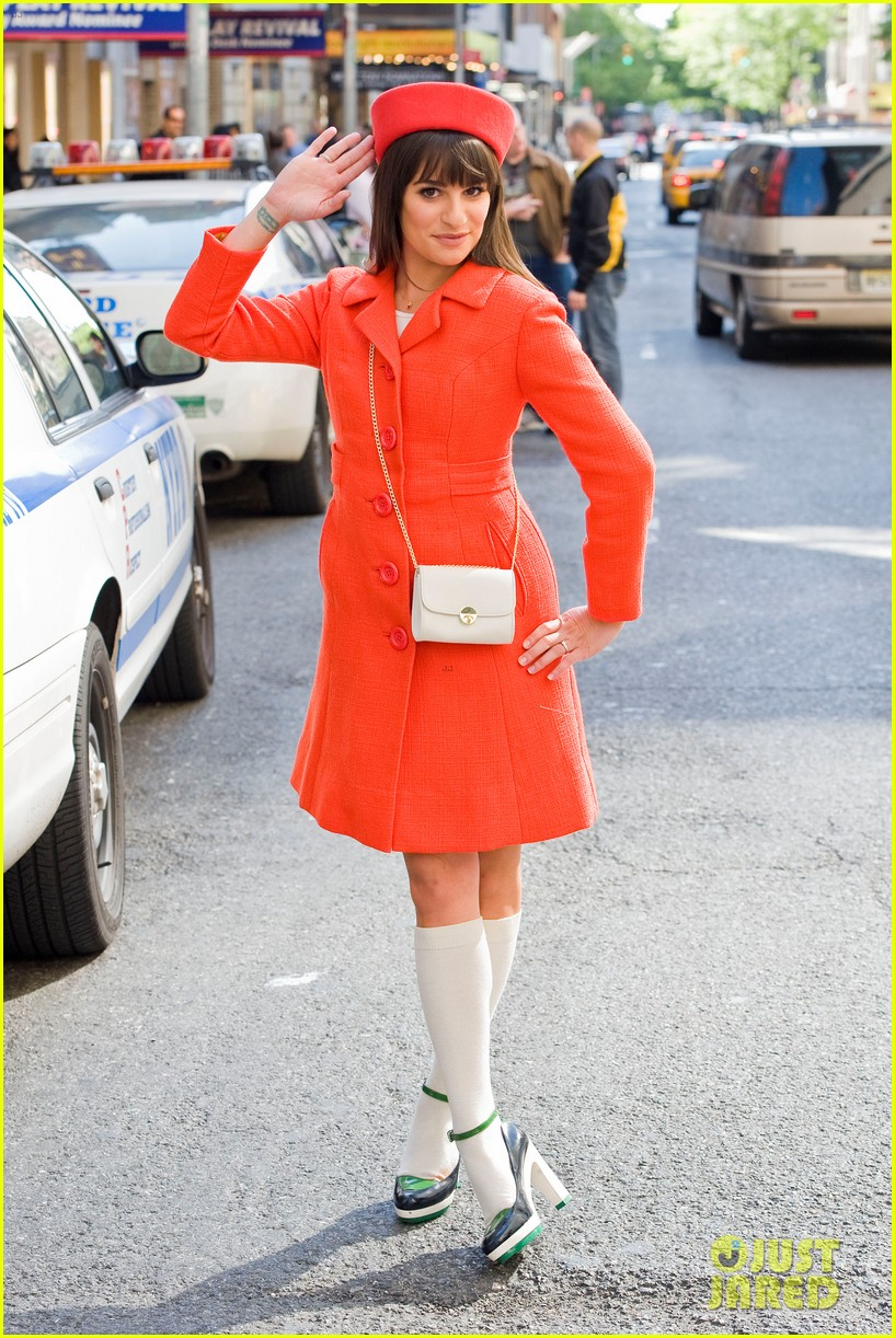 lea michele rachel berry broadway 13