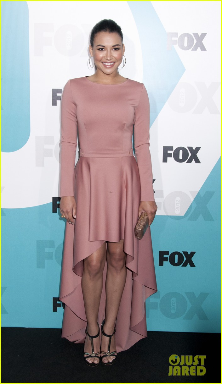 lea michele fox upfronts 05