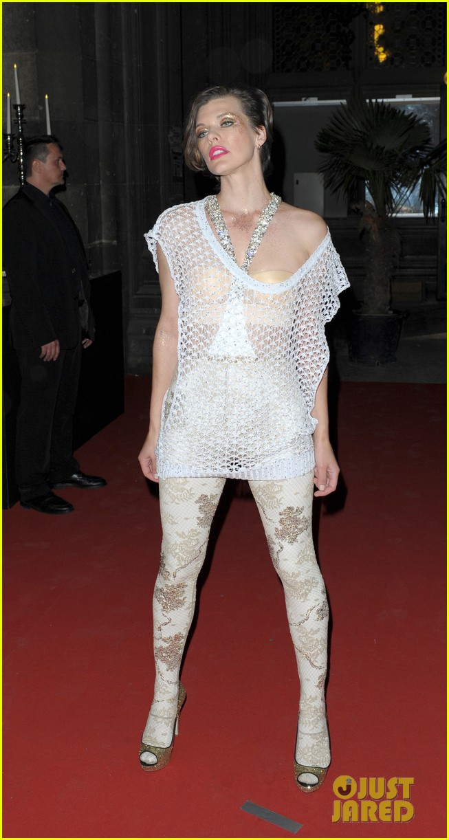 milla jovovich life ball event 15