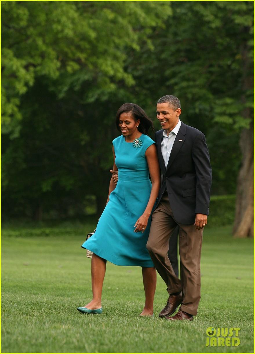 barack michelle obama white house arrival 10