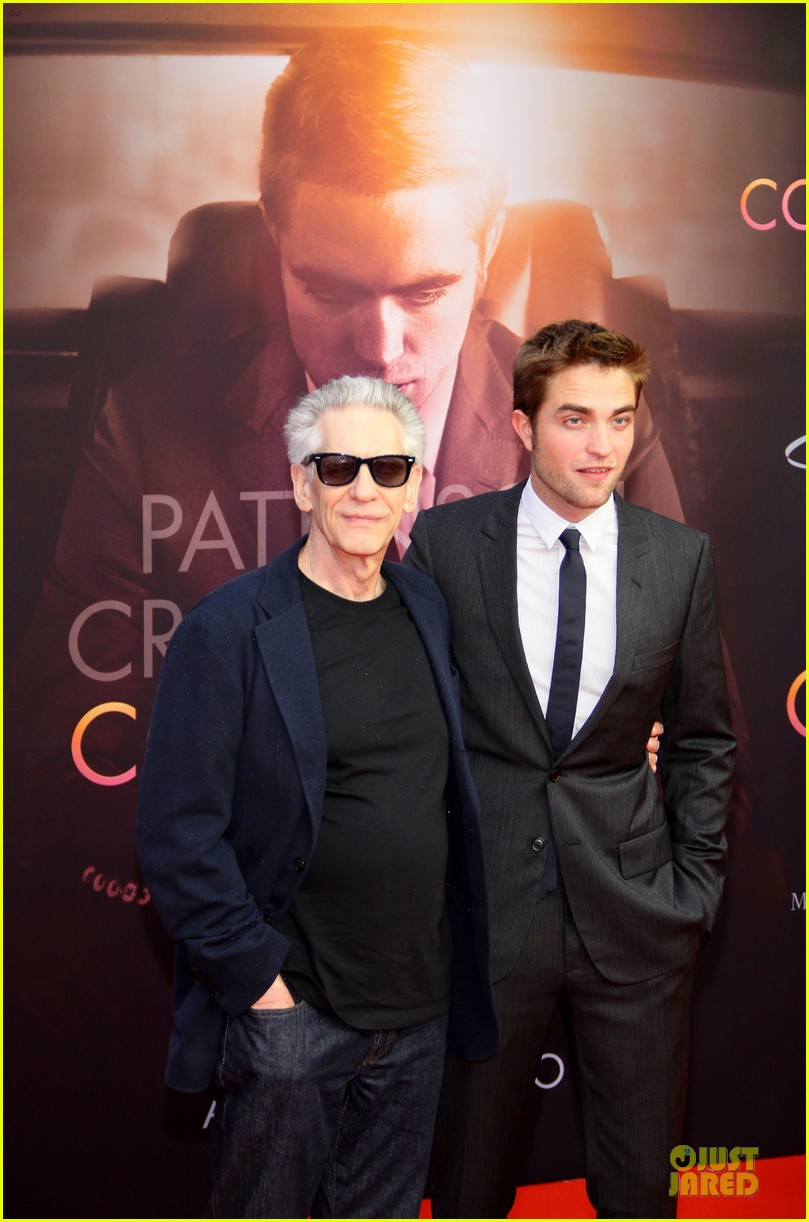 robert pattinson cosmopolis german premiere 01