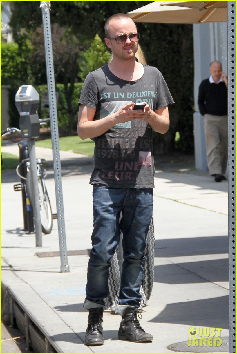 aaron paul toast lunch 012660689