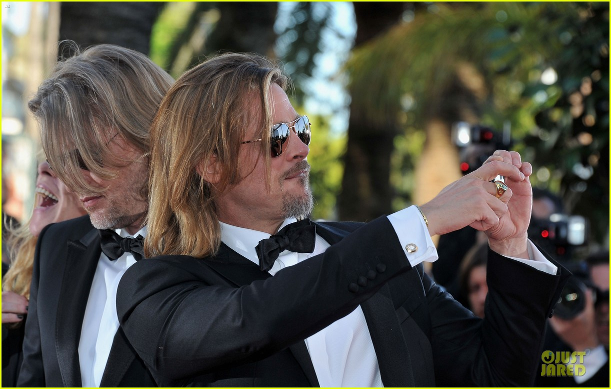 brad pitt killing softly cannes premiere 09