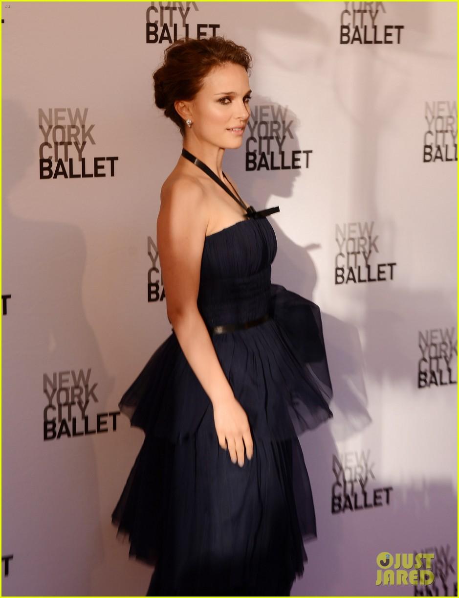 natalie portman benjamin millepied nyc ballet gala 10