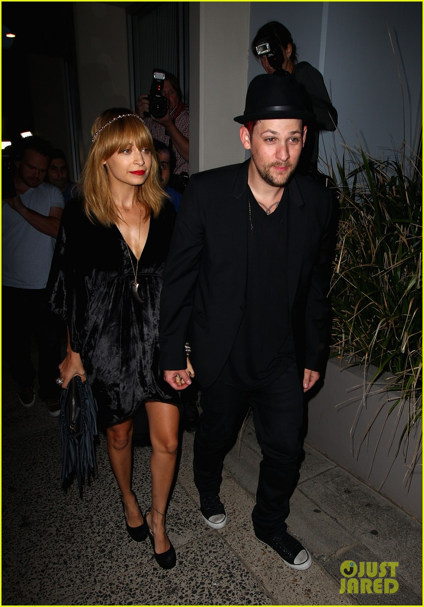 nicole richie joel madden the voice sydney launch party 022660012