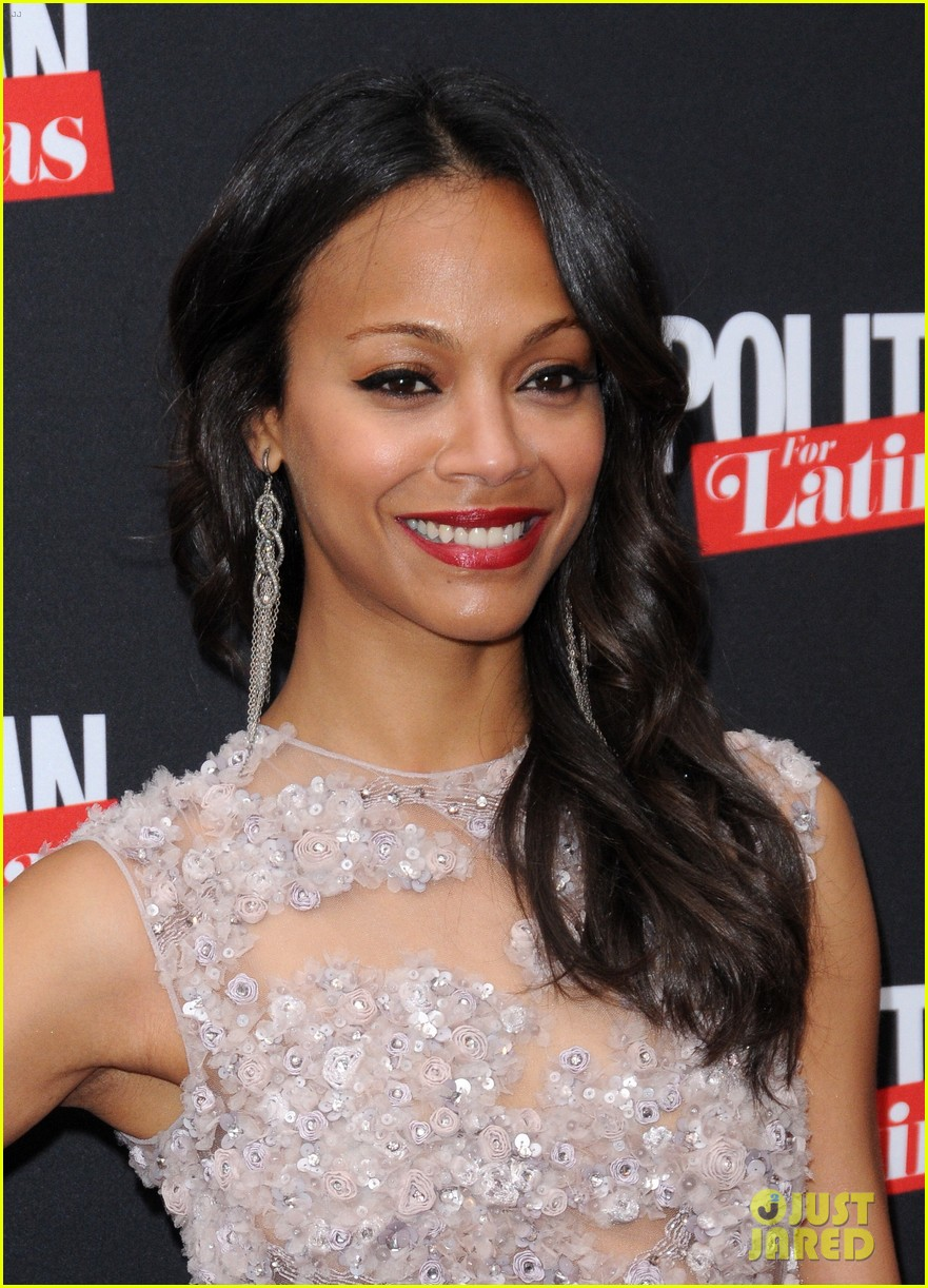 zoe saldana cosmopolitan for latinas premiere issue party 02