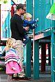 liev schreiber park with boys 17