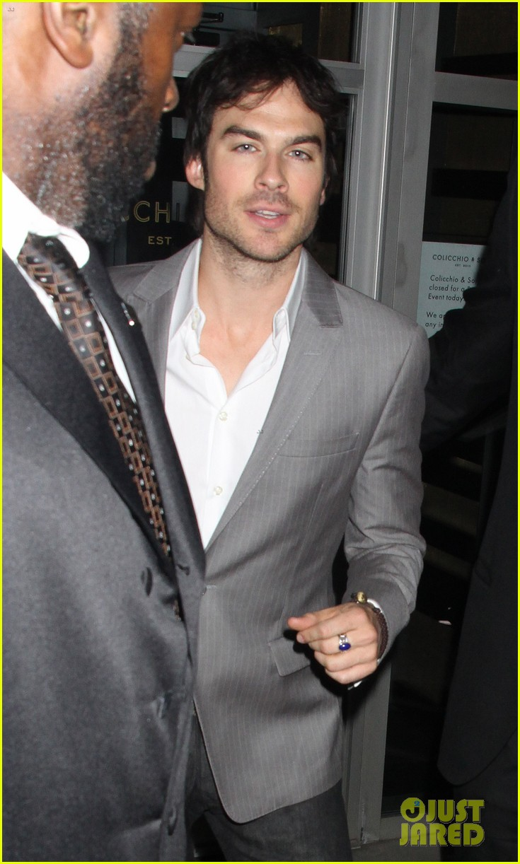 ian somerhalder nina dobrev cw upfront after party 022663577