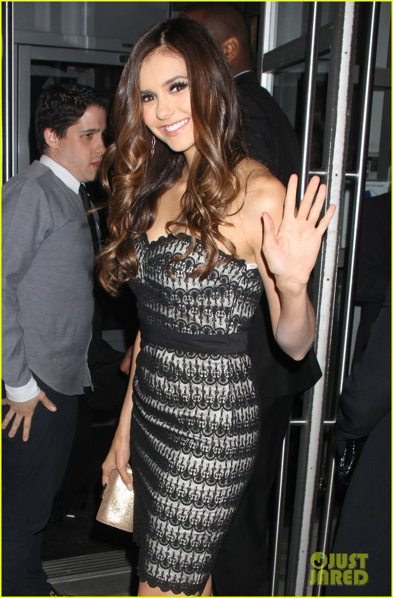 ian somerhalder nina dobrev cw upfront after party 042663579