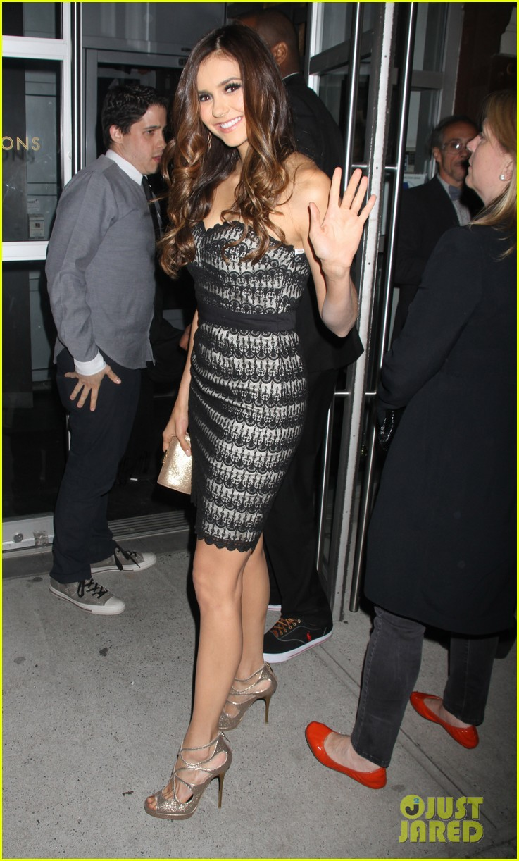 ian somerhalder nina dobrev cw upfront after party 07
