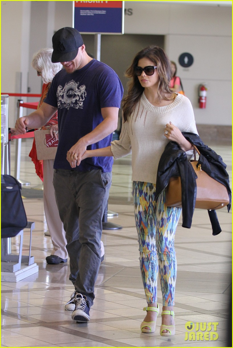 channing jenna leaving lax 01