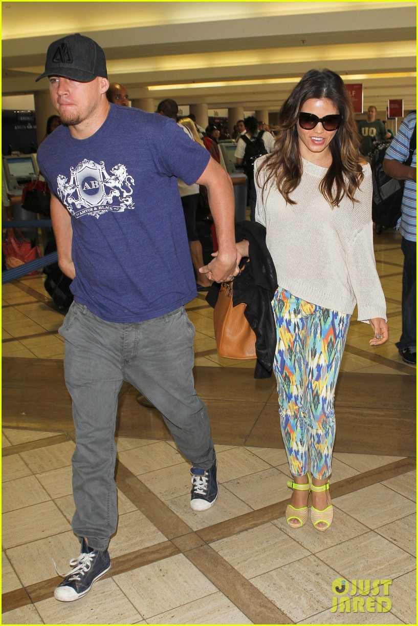 channing jenna leaving lax 032664626
